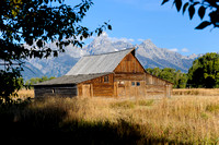 Grand Tetons Mormon Row